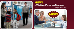 Visitor Passes for Receptionist
